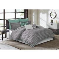 Echo Design™ Kalea Black Cotton Comforter 4-Piece Set