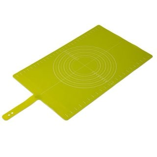 Joseph Joseph Green Silicone Non-Slip Roll-up Pastry Mat With Measurements