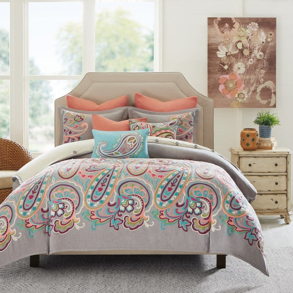 Hampton Hill Persian Paisley Multi Comforter Set
