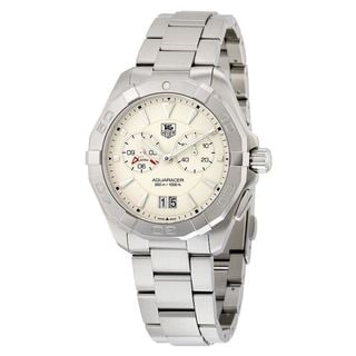 Link to Tag Heuer Men's WAY111Y.BA0928 'Aquaracer' Chronograph Stainless Steel Watch Similar Items in Men's Watches