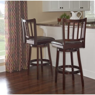 Powell Sampson Dark Brown Bar Stool