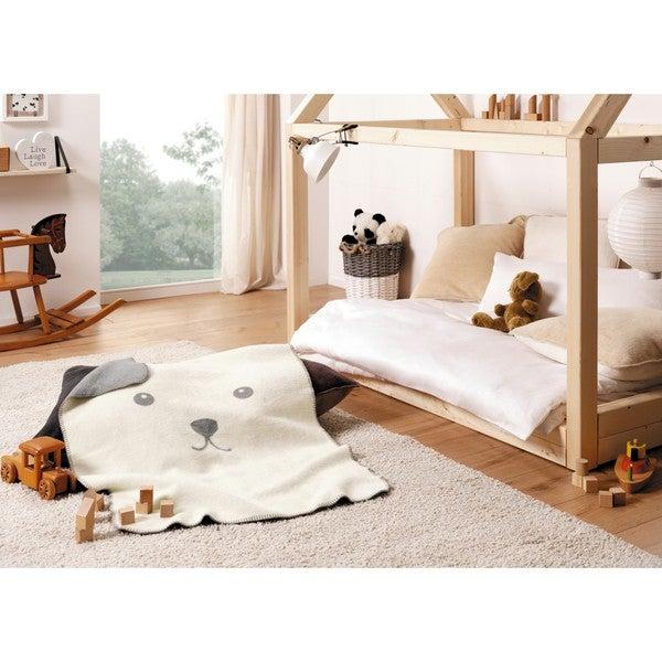 IBENA Salla-Cute Face Baby Blanket