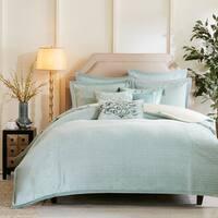 Hampton Hill Impressions Aqua Comforter Set