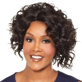 Vivica A. Fox Megan V New Futura Fiber Natural Baby Hair Lace Front Wig