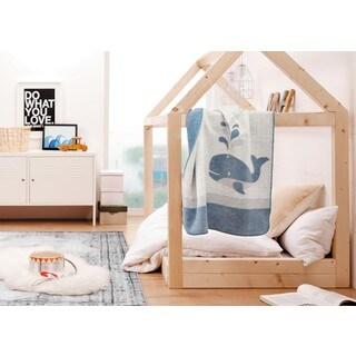 IBENA Kolari Whale Baby Blanket