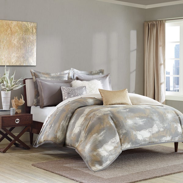 Madison Park Signature Graphix Grey Comforter Set