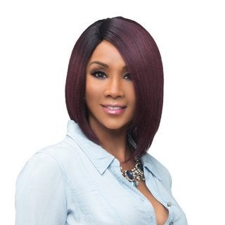 Vivica A. Fox Usha Synthetic Heat-resistant Fiber Natural Baby Hair Wig