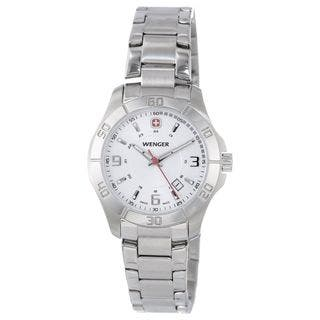 Wenger Women's 70499 'Alpine' Stainless Steel Watch https://ak1.ostkcdn.com/images/products/12408625/P19228147.jpg?impolicy=medium