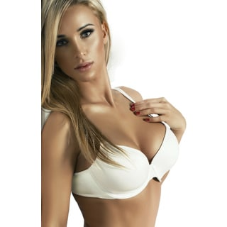 Underwire Convertible Strap Push-up Demi Bra