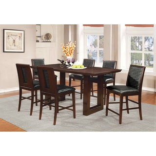 Coaster Company Brown Wood Counter Height Dining Table