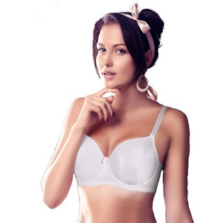 Women's Unlined Underwire Minimizing Demi Bra