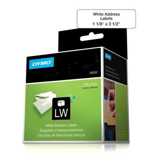 DYMO 30252 LabelWriter Self-Adhesive Address Labels