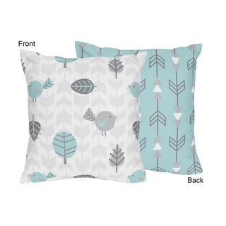 Sweet Jojo Designs Earth and Sky Decorative Accent Throw Pillow