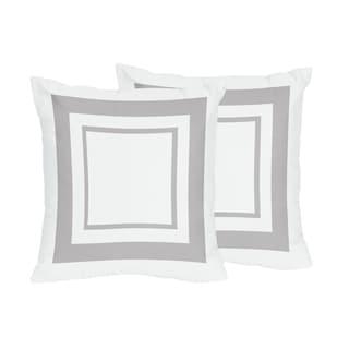 Shop Sweet Jojo Designs White And Navy Hotel Decorative