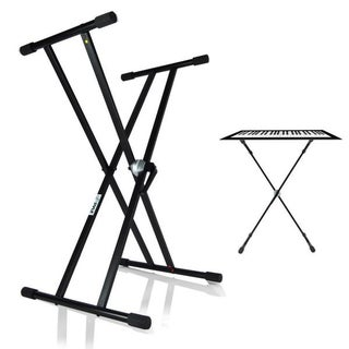 Pyle PKS40 Universal Height Adjustable Keyboard Stand