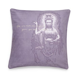 Under the Canopy Organic Cotton Goddess Divine Love European Square Sham
