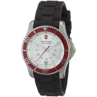 Victorinox Swiss Army Women's 241484 'Maverick' Black Rubber Watch