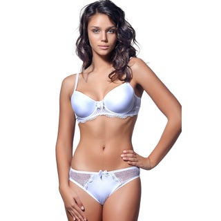 White Lace Convertible Bra and Panty Set