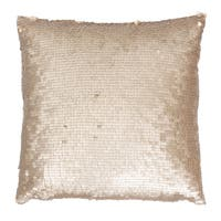 Thro by Marlo Lorenz Laguna Leather 20-inch x 20-inch Sequined Throw Pillow