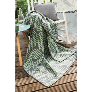 IBENA Cotton Pure Nivala Oversized Throw