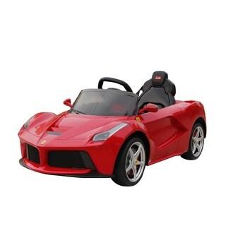 Best Ride On Cars 12V Red La Ferrari
