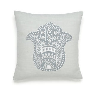 Under the Canopy Metamorphosis Hamsa Happiness Decorative Throw Pillow