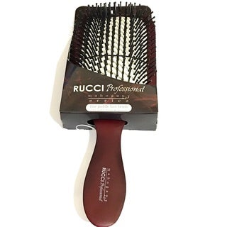 Rucci Mahogany Series Rectangular Hair Brush