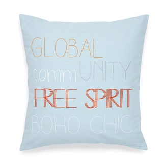 Under the Canopy Adventurer Square Free Spirit Decorative Throw Pillow