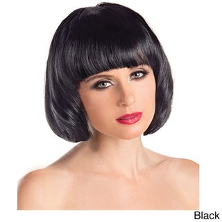 Be Wicked Synthetic Short Bob Fashion Wig (Option: Black)