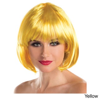Be Wicked Synthetic Short Bob Fashion Wig (Option: Yellow)