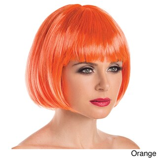 Be Wicked Synthetic Short Bob Fashion Wig (Option: Orange)