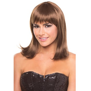 Solid Color Doll Wig (Option: Chestnut)