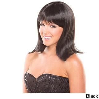 Solid Color Doll Wig (Option: BLACK)