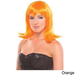 Solid Color Doll Wig (Option: ORANGE)