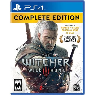 Witcher : Wild Hunt (Complete Edition) - PS4