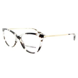 Dolce & Gabbana Fog Tortoiseshell Plastic Square Eyeglasses