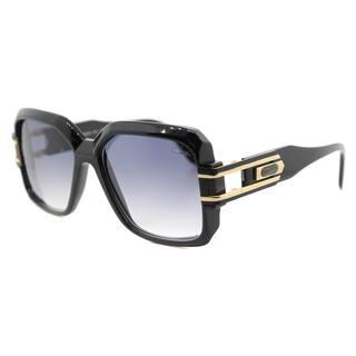 10091a201af9 Cazal Cazal 623 001SG Vintage Black Plastic Square Grey Gradient Lens  Sunglasses