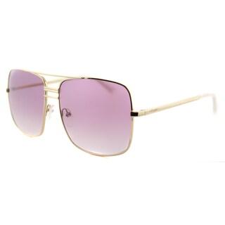 Celine CL 41808 J5G 9R Gold Metal Aviator Pink Gradient Lens Sunglasses