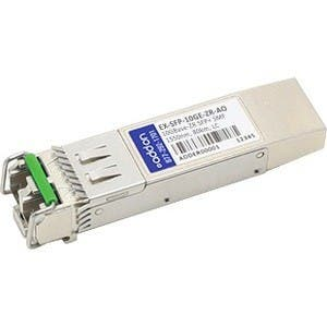 AddOn Juniper Networks EX-SFP-10GE-ZR Compatible TAA Compliant 10GBase-ZR SFP+ Transceiver (SMF, 1550nm, 80km, LC, DOM)