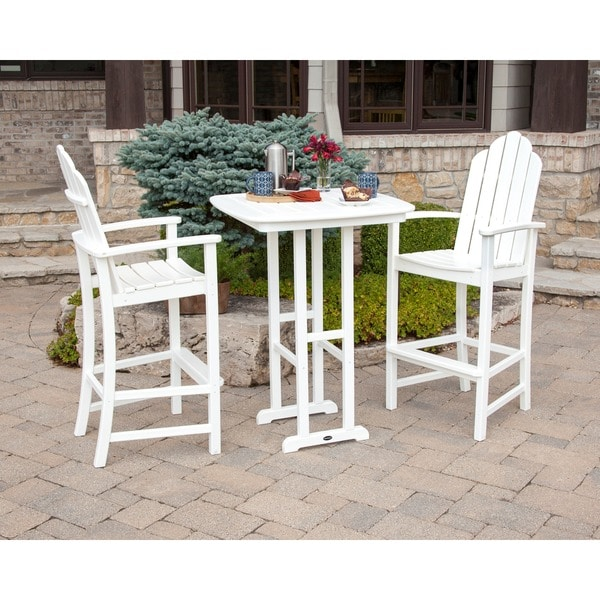 Kahala Adirondack 3 Piece Patio Bar Set