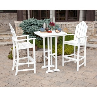 Kahala Adirondack 3-piece Patio Bar Set