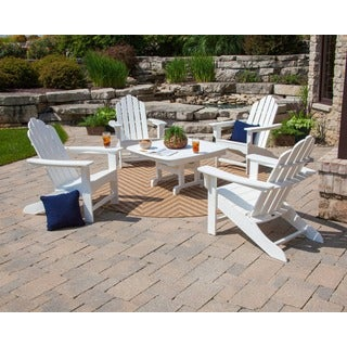 Kahala Adirondack 5-piece Patio Conversation Set
