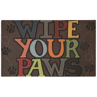 Mohawk Home Doorscapes Wipe Your Paws Door Mat (1'6 x 2'6)