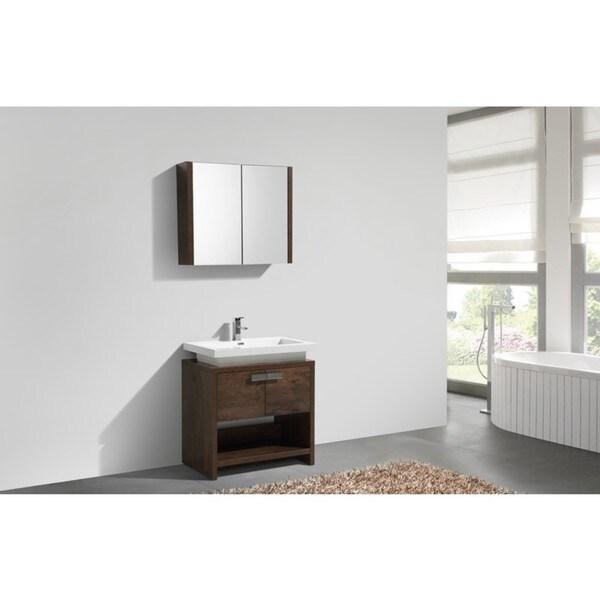65 Inch Bathroom Vanity Single Sink: Shop KubeBath Levi 32-inch Single Sink Bathroom Vanity