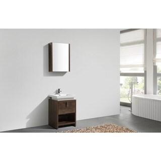 KubeBath Levi 24-inch Single Sink Bathroom Vanity