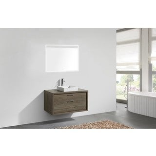 KubeBath Tucci 42-inch Wall Mounted Bathroom Vanity
