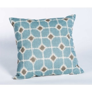 Sofie Cadet Linen 17-Inch Square Decorative Pillow