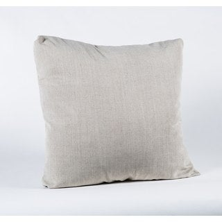 Linen Natural Tucked Fiber Square Pillow