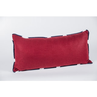 Circa Solid Lava Linen Blend Decorative Pillow
