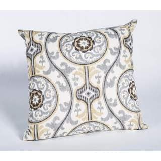 Oh Suzani Fiber 17-Inch Square Pillow